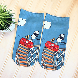 CALCETINES SNOOPY RISA