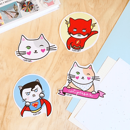 STICKER/MAGNETO SUPER GATOS