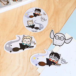 STICKER/MAGNETO POTTER Y DRACO