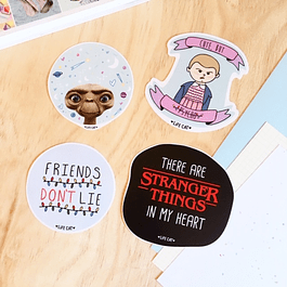 STICKER/MAGNETO STRANGER THINGS