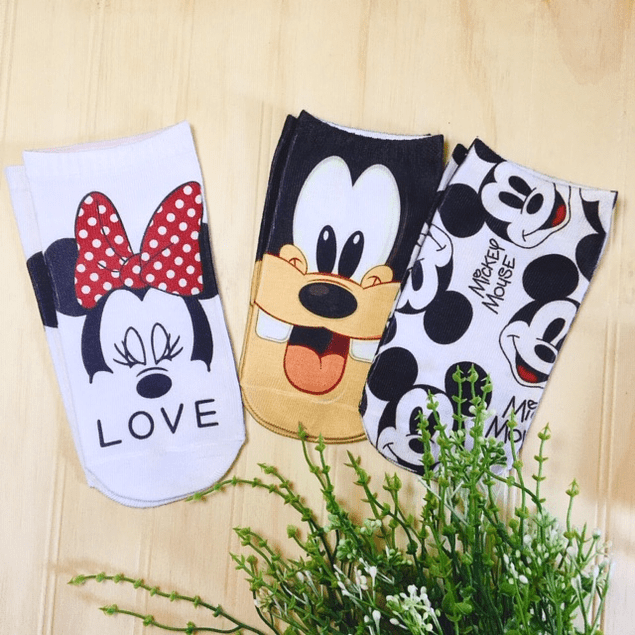 CALCETINES MOUSE MICKEY