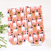 CALCETINES FRENCHIES FLORES