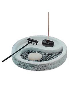 Jardin  Zen Yin Yang blanco JI19-029