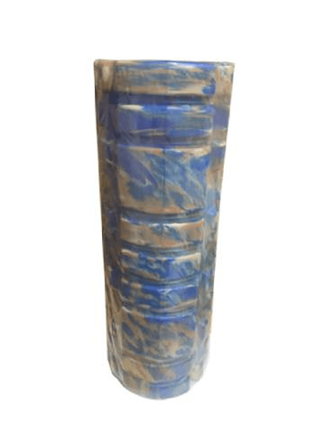 Rodillo Masaje Muscular Azul 33Cm