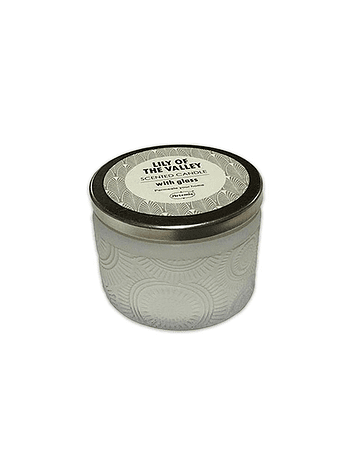Vela Aromatica H. Fragance  Vidrio Tallado