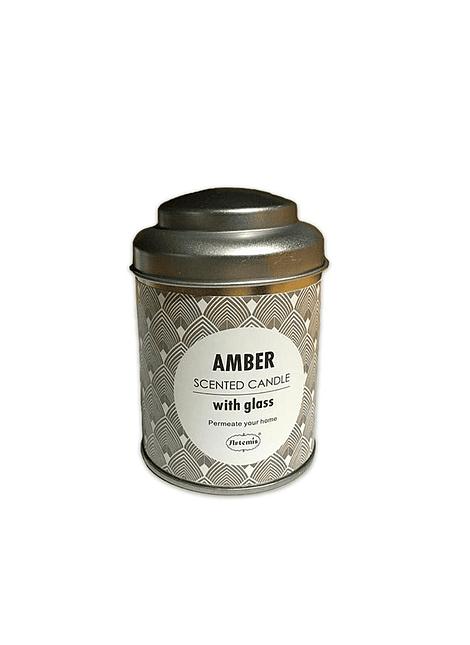 Vela Aromatica H. Fragance  Ambar Lata Mediana