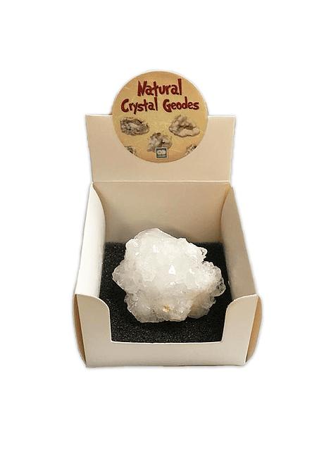 Piedra Natural Crystal Geodes Cuarzo Blanco