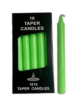 Velas Taper Verde
