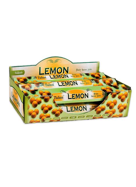 Incienso Tulasi Hexagonal Variedad Frutal Pack de 6