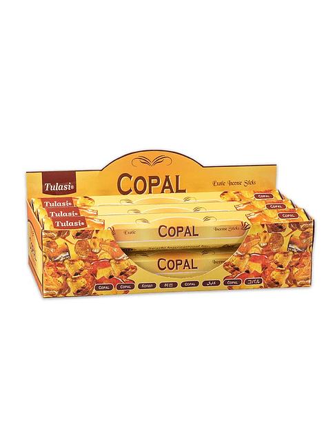 Incienso Hexagonal Tulasi Variedad Hierbas Recinas Pack de 6