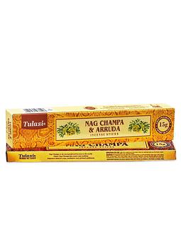 Incienso Tulasi Nag champa & Ruda