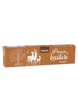 Incienso Tulasi Premium  Kasturi 25Gr