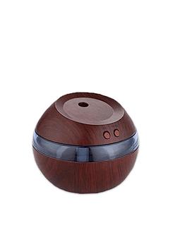 Difusor Humidificador Esfera 300ml Cafe Oscuro Ji20-16