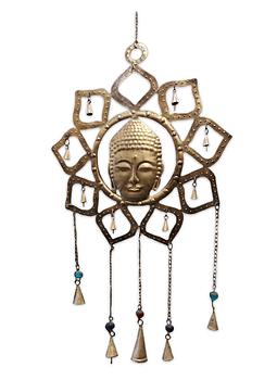 Campana De Viento Buda SLV19-107