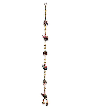 Colgante Tira Elefantes  SLV19-12