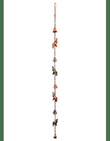 Colgante Eelefante  Tela SLV19-136