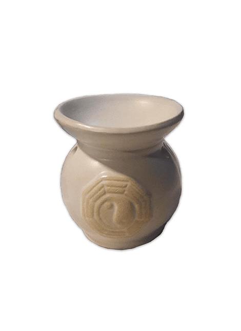 Difusor  de ceramica c/  figura yin yang