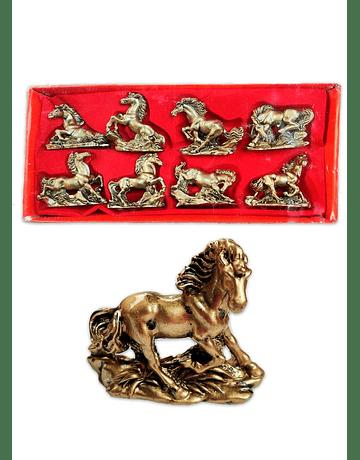 Figura  de Caballos Dorados 3
