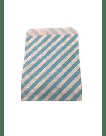 Bolsa Papel  Rayas (Cambucho) 18X13 JI15-006