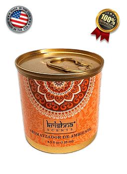 Aromatizador en Lata Krishna Naranja Canela 135ML