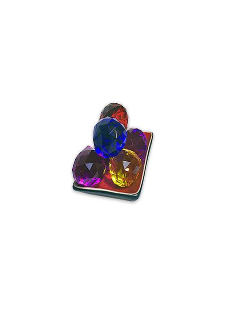 Prisma Transparente y  Color Pequeño 20mm