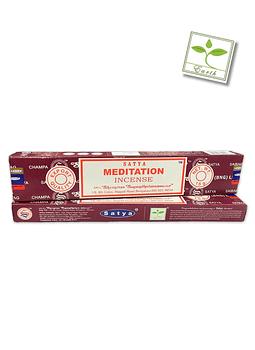 Incieso Satya Meditación 12 unidades