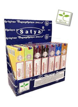 Incienso Satya Mix Pack de 42 Und