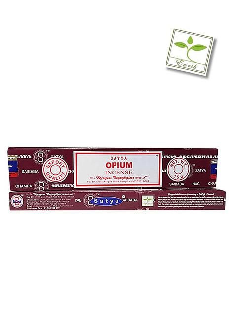 Incienso Satya Opium 12 unidades