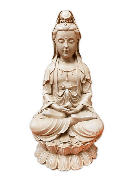 Figura  Poliresina  Quan Jin  15'5 JI19-010