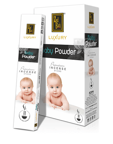 Incienso Zed Black Luxury  Talco para Bebes