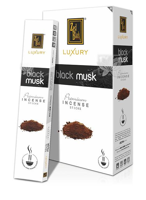 Incienso Zed Black Luxury  Black Musk