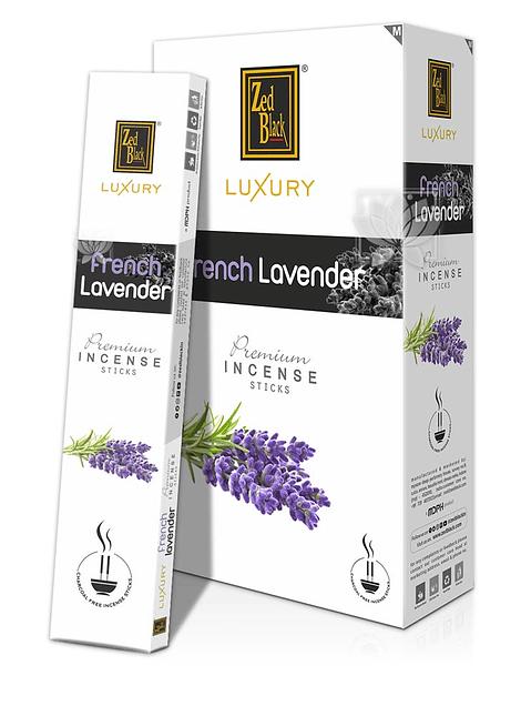 Incienso Zed Black Luxury  Lavanda Francesa