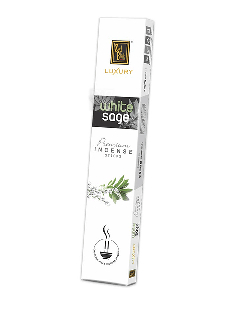 Incienso Zed Black Luxury  Salvia Blanca