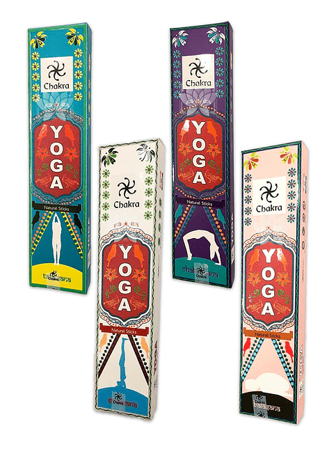 Incienso  Chakra YOGA Mix
