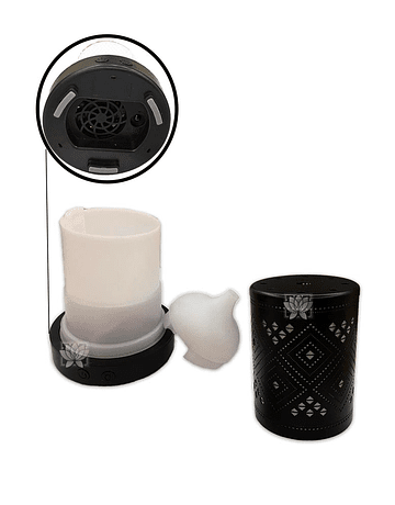 Difusor Humidificador + Esencia de Krsihna 15 ml