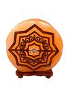 """Lampara de Sal Diseño Mandala N° 1 Redondo 9"""""""