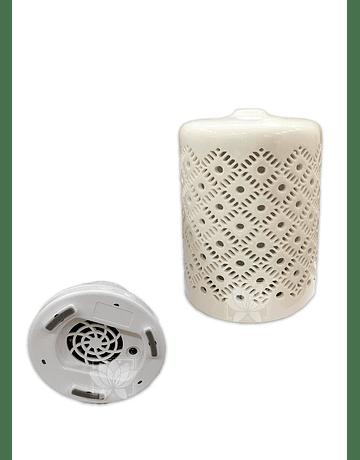 Difusor Humidificador Ceramica 100ML + Esencia Krishna 15ml