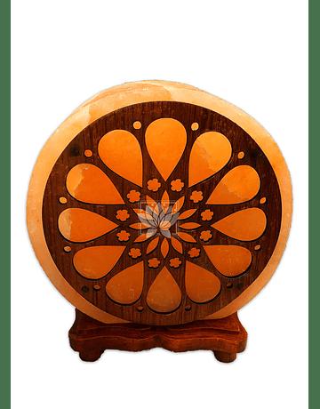 Lampara de Sal Diseño N°9   Flor    9