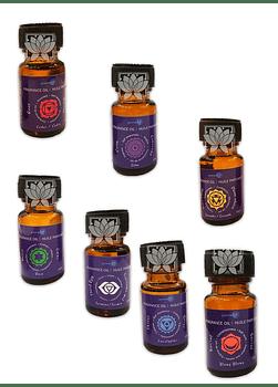 Set de Aceites Esenciales 7 Chakras GE-OIL