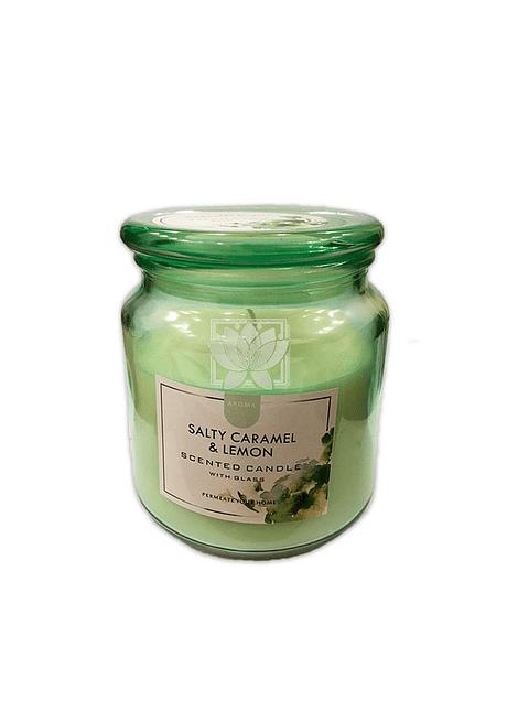 Vela Aromatica Aroma Caramelo Limon JI20-52