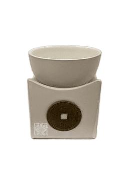 Difusor de de cerámica con Pocillo y Moneda JI19-389