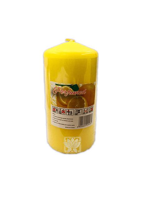 Vela Cirio Aromaticas Mediana Limón JI19-115