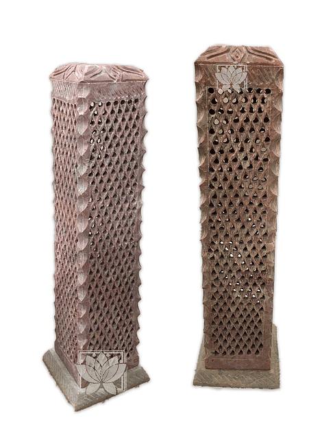 Porta Incienso Jabón Piedra Diseño VDQ20-51