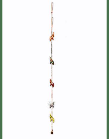 Colgante Eelefante  Tela VDQ20-19