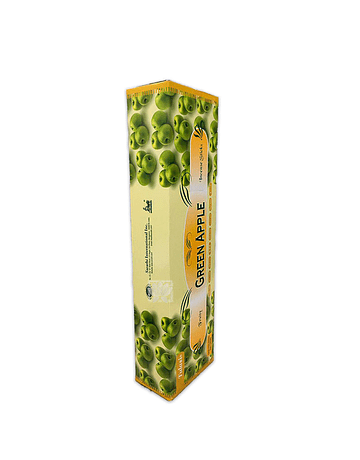 Incienso Tulasi Garden 16´ Manzana Verde