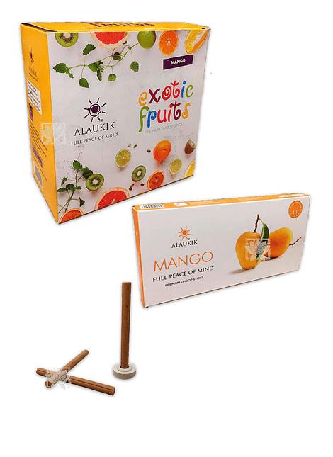 Incienso Alaukik Frutas Exoticas Dhoop 50Gr Mango