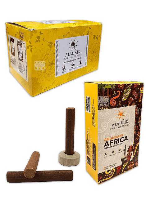 Incienso Alaukik A. E. Dhoop  Africa Abundante