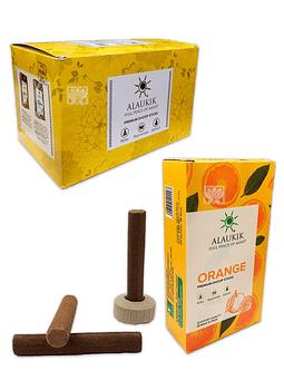 Incienso Alaukik Aromas Exoticos Dhoop  Naranja