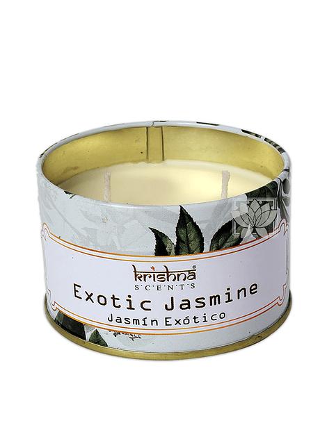 Vela Aromaticas Lata Krishna Jasmin