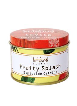 Vela Aromaticas Lata Krishna Explosion Citrica